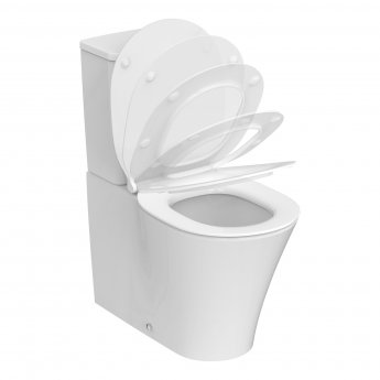 Ideal Standard Concept Air Back to Wall Close Coupled Toilet with 6/4 Litre Cistern - Soft Close Seat