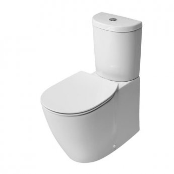 Ideal Standard Concept Arc Close Coupled Toilet WC Push Button Cistern - Soft Close Seat White