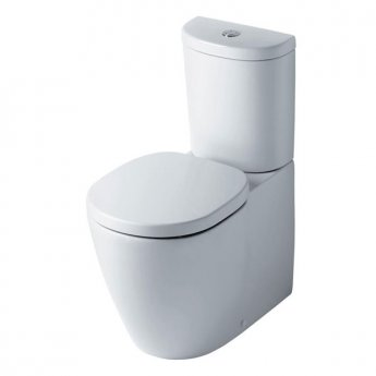 Ideal Standard Concept Arc Close Coupled Toilet WC Push Button Cistern - Standard Seat White