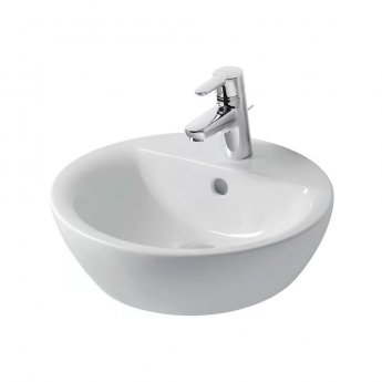 Ideal Standard Concept Sphere Vessel Basin 430mm Wide 1 Tap Hole