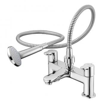 Ideal Standard Concept Blue Bath Shower Mixer with Set Chrome