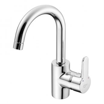 Ideal Standard Concept Blue Single Lever Basin Mixer with Tubular Spout Chrome