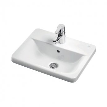 Ideal Standard Concept Cube Countertop Basin 500mm Wide 1 Tap Hole