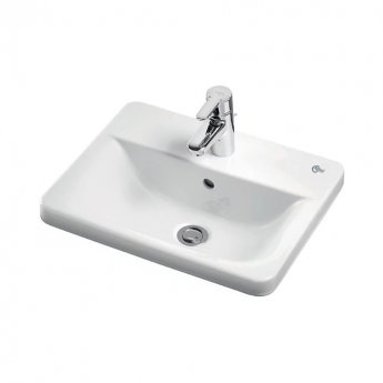 Ideal Standard Concept Cube Countertop Basin 580mm Wide 1 Tap Hole