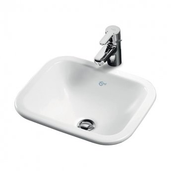 Ideal Standard Concept Cube Countertop Basin 420mm Wide 0 Tap Hole