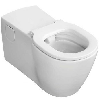 Ideal Standard Concept Doc M Pack with Wall Hung Disabled Toilet and 400mm Basin White
