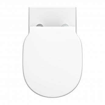 Ideal Standard Concept Freedom Raised Height Back to Wall Toilet - Soft Close Seat