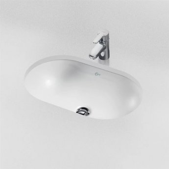 Ideal Standard Concept Oval Under-countertop Basin 480mm Wide