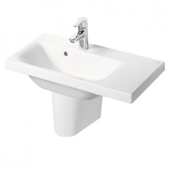 Ideal Standard Concept Space Right Hand Basin and Semi Pedestal 600mm x 380mm 1 Tap Hole