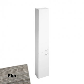 Ideal Standard Concept Space Tall Unit With Two Doors 300mm - Elm