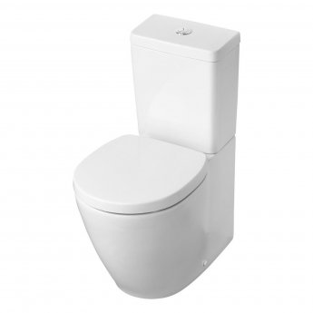 Ideal Standard Concept Space Back To Wall Close Coupled Toilet with Cube Cistern - Standard Seat