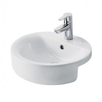 Ideal Standard Concept Sphere Semi-Countertop Basin 450mm Wide 1 Tap Hole