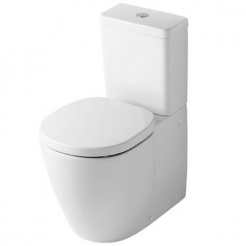 Ideal Standard Concept Close Coupled Toilet WC 6/4 litre Push Button Cistern - Standard Seat