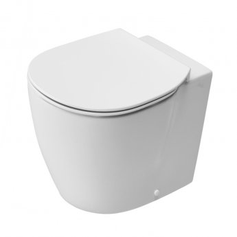 Ideal Standard Concept Back to Wall Toilet 550mm Projection Soft Close Seat White