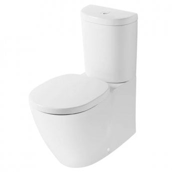 Ideal Standard Concept Back to Wall Toilet with 6/4 Litre Push Button Cistern - Soft Close Seat