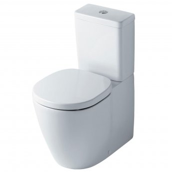 Ideal Standard Concept Cube Aquablade Close Coupled Toilet inc Soft Close Seat