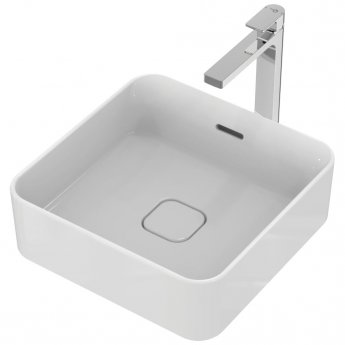 Ideal Standard Ipalyss Vessel Washbasin 400mm Wide 0 Tap Hole