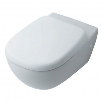 Ideal Standard Jasper Morrison Wall Hung Toilet WC - Soft Close Seat and Cover White