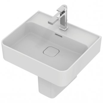 Ideal Standard Strada 2 Washbasin with Semi Pedestal 500mm Wide 1 Tap Hole