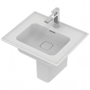 Ideal Standard Strada 2 Washbasin with Semi Pedestal 540mm Wide 1 Tap Hole
