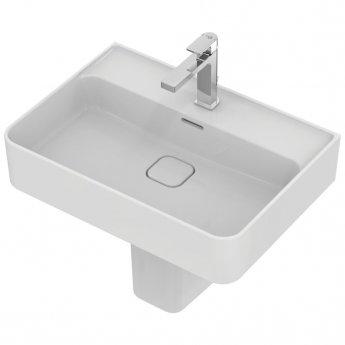 Ideal Standard Strada 2 Washbasin with Semi Pedestal 600mm Wide 1 Tap Hole
