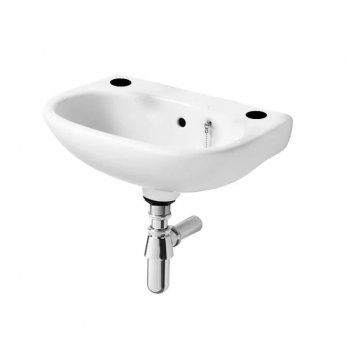 Ideal Standard Studio Basin 450mm Wide 2 Tap Holes