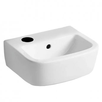 Ideal Standard Tempo Handrinse Washbasin 350mm Wide Left Hand 1 Tap Hole