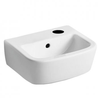 Ideal Standard Tempo Handrinse Washbasin 350mm Wide Right Hand 1 Tap Hole