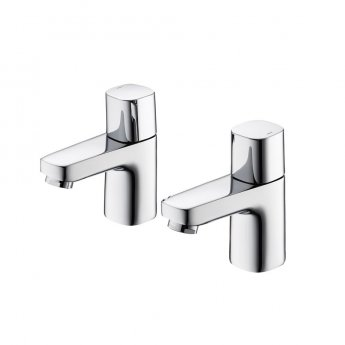 Ideal Standard Tempo Basin Pillar Taps Pair Chrome