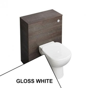 Ideal Standard Tempo 650mm WC Unit With Toilet Pan and Seat + Cistern  - Gloss White