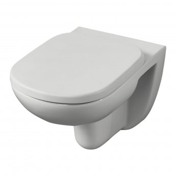 Ideal Standard Tempo Wall Hung Toilet 530mm Projection - Soft Close Seat and Cover
