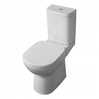 Ideal Standard Tempo Close Coupled Toilet WC Push Button Cistern - Soft Close Seat