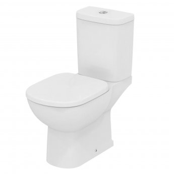 Ideal Standard Tempo Close Coupled Toilet Vertical Outlet & Dual Flush Cistern - Standard Seat
