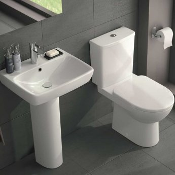 Ideal Standard Tempo Close Coupled Toilet 4/2.6 Litre Dual Flush Cistern - Soft Close Seat