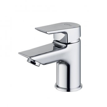Ideal Standard Tesi Deck Mounted Mini Basin Mixer Tap Without Waste - Chrome
