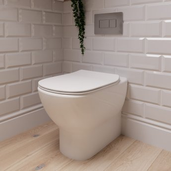 Ideal Standard Tesi Back to Wall Toilet - Soft Close Seat and Cover