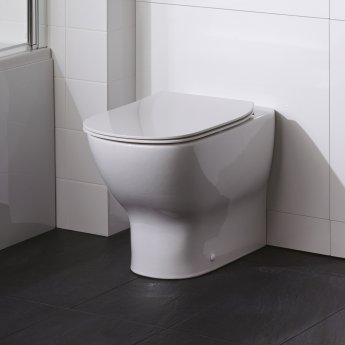 Ideal Standard Tesi Back to Wall Toilet - Standard Seat and Cover
