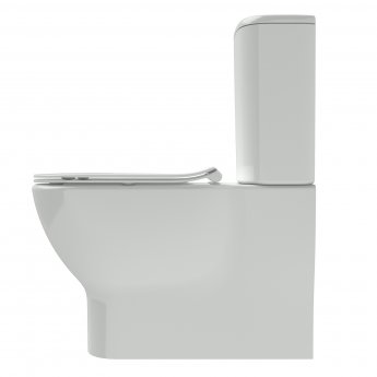 Ideal Standard Tesi Back to Wall Close Coupled Toilet with 6/4 Litre Cistern - Soft Close Seat