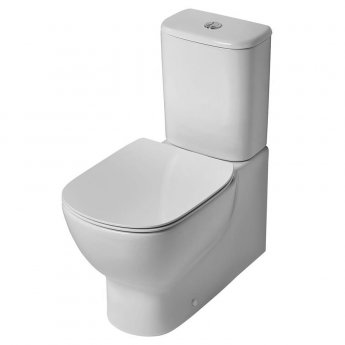 Ideal Standard Tesi Back to Wall Close Coupled Toilet with 6/4 Litre Cistern - Standard Seat