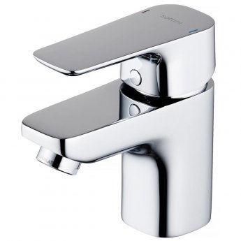 Ideal Standard Tesino Mini Single Lever Basin Mixer Tap Without Waste - Chrome
