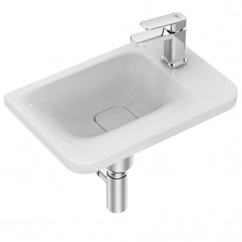 Ideal Standard Tonic 2 Asymmetric Washbasin 460mm Wide - Right Hand