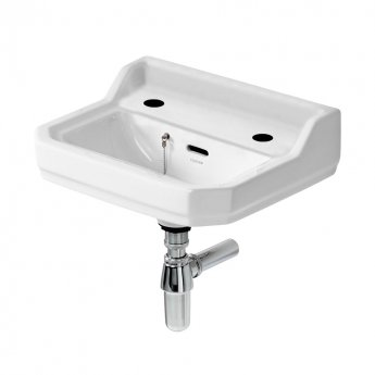 Ideal Standard Waverley Handrinse Basin 450mm Wide - 2 Tap Holes