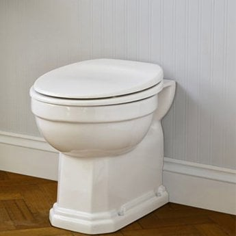 Ideal Standard Waverley Back to Wall Toilet 500mm Projection - Standard White Seat