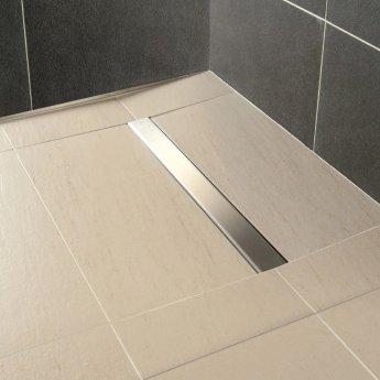 Impey Aqua-Dec Linear 2 Wet Room Former, 1200mm x 900mm, Linear Waste