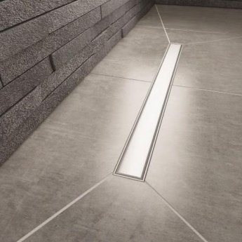 Impey Aqua-Grade 400mm Linear Kit 2 Walls & 2 Falls - 1200mm x 900mm (for Tiled Floors)