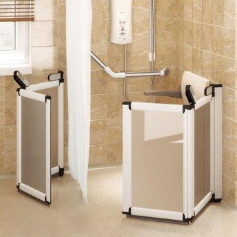 Impey Elevate Option H Corner Half Height Door 1200mm x 1200mm - Non Handed