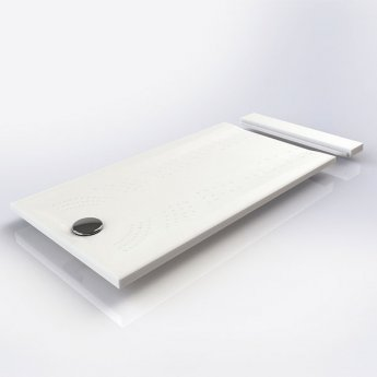 Impey Mantis Rectangular Shower Tray with Waste 1400mm x 700mm White