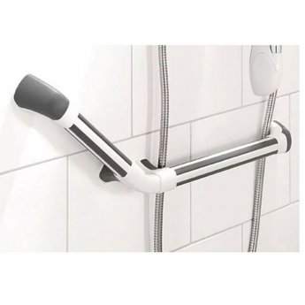Impey Maxi-Grip Plus Hand Rail White/Grey 300mm