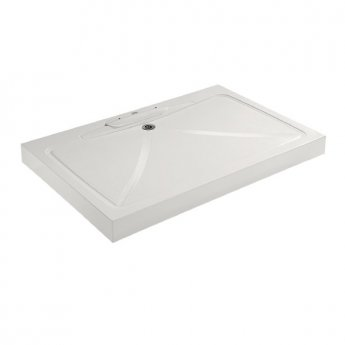 Impey Mendip Square Shower Tray with Waste 900mm x 900mm White