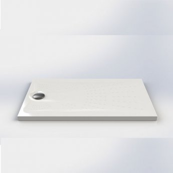 Impey Radiate Universal Square Shower Tray with Waste 1000mm x 1000mm White